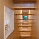 桜の住宅の写真 階段