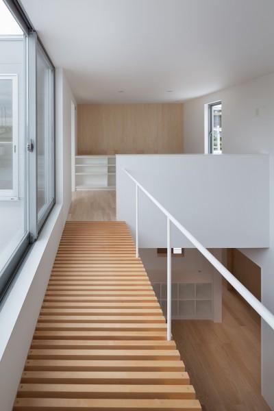 渡り廊下 (桜の住宅)