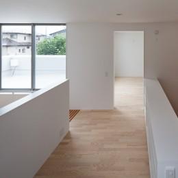 桜の住宅 (2階スタディールーム)