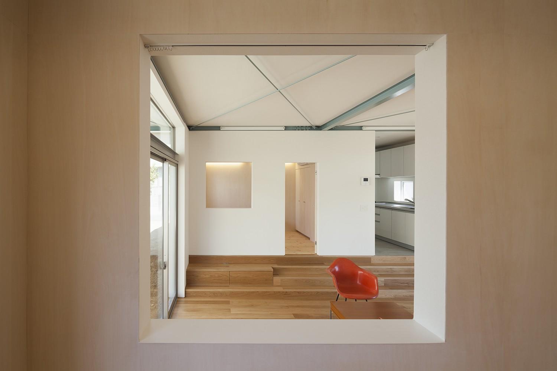 ベッドルーム事例:寝室3(高松の平屋)