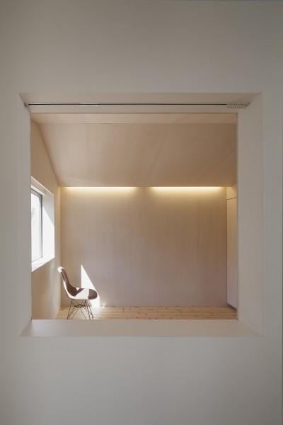 寝室2 (高松の平屋)