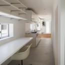 高松の平屋の写真 スタディーコーナー,キッチン