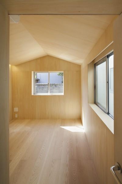 寝室1 (高松の平屋)