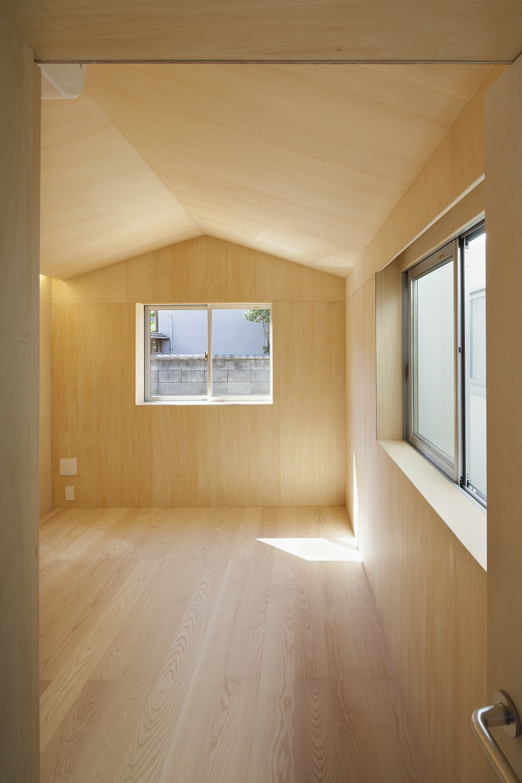 ベッドルーム事例:寝室1(高松の平屋)