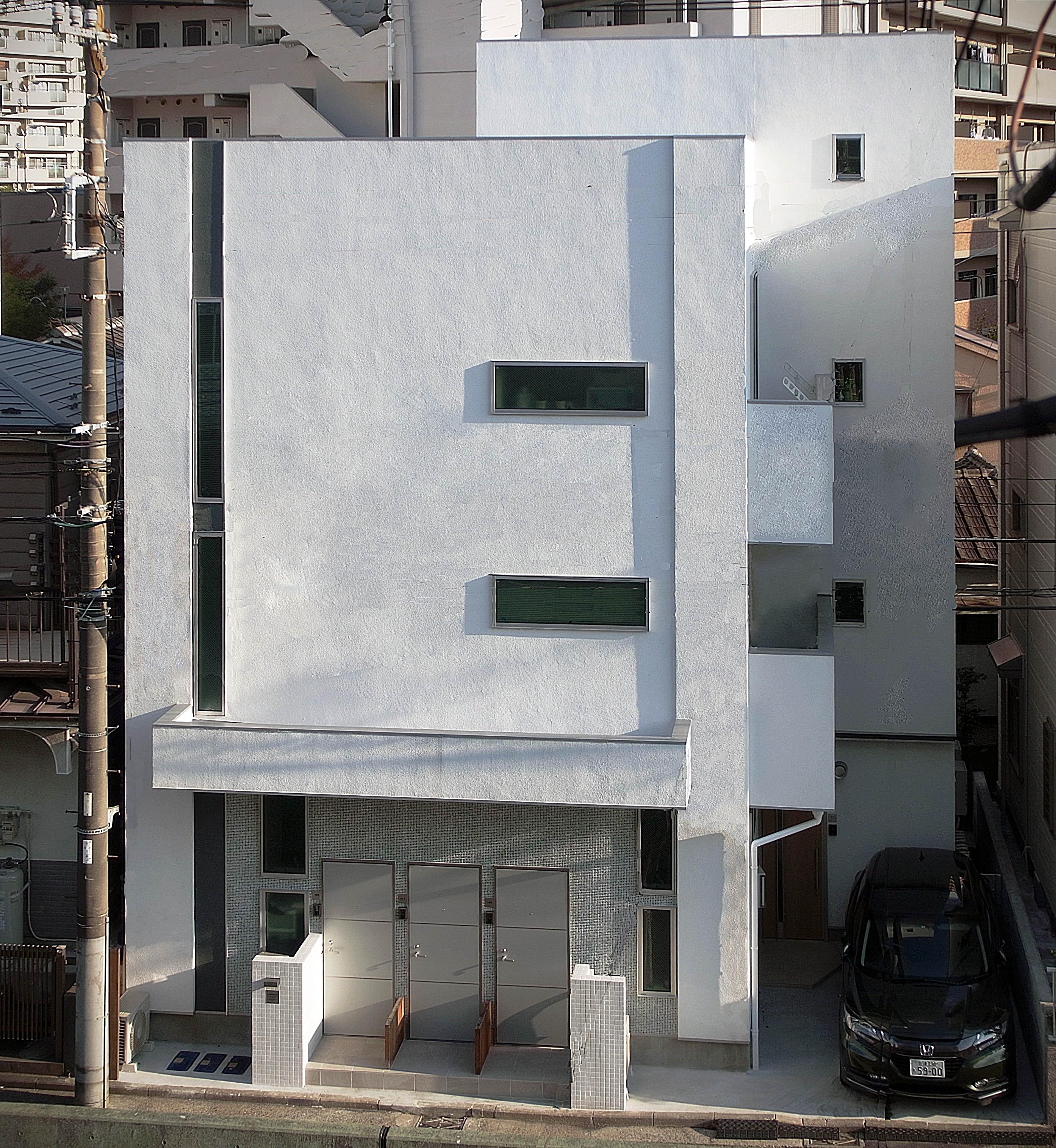 外観事例:遠景(賃貸併用住宅 神奈川)