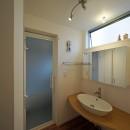 賃貸併用住宅 神奈川の写真 オーナー住居の洗面室