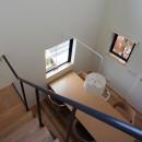 北大和の家の写真 吹抜け・階段