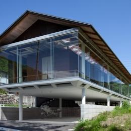 建築家 森 大樹/小埜勝久の事例「都幾川縁りのハイブリッド・ハウス/Onさんの家」