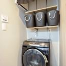 Black Simple Modernの写真 洗濯場