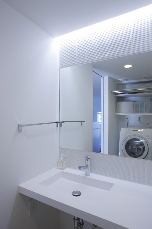 都島のマンションリフォーム (洗面脱衣室)