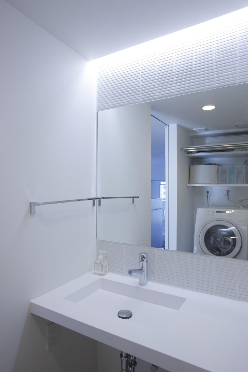 その他事例:洗面脱衣室(都島のマンションリフォーム)