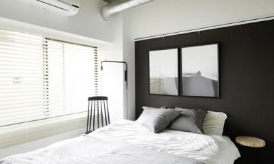 寝室はクールに|背伸びしない現実の暮らしに即しつつも、夢と遊び心はしっかりと取り入れて。