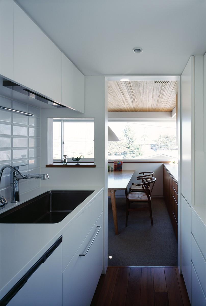 山手町の家 (キッチン)