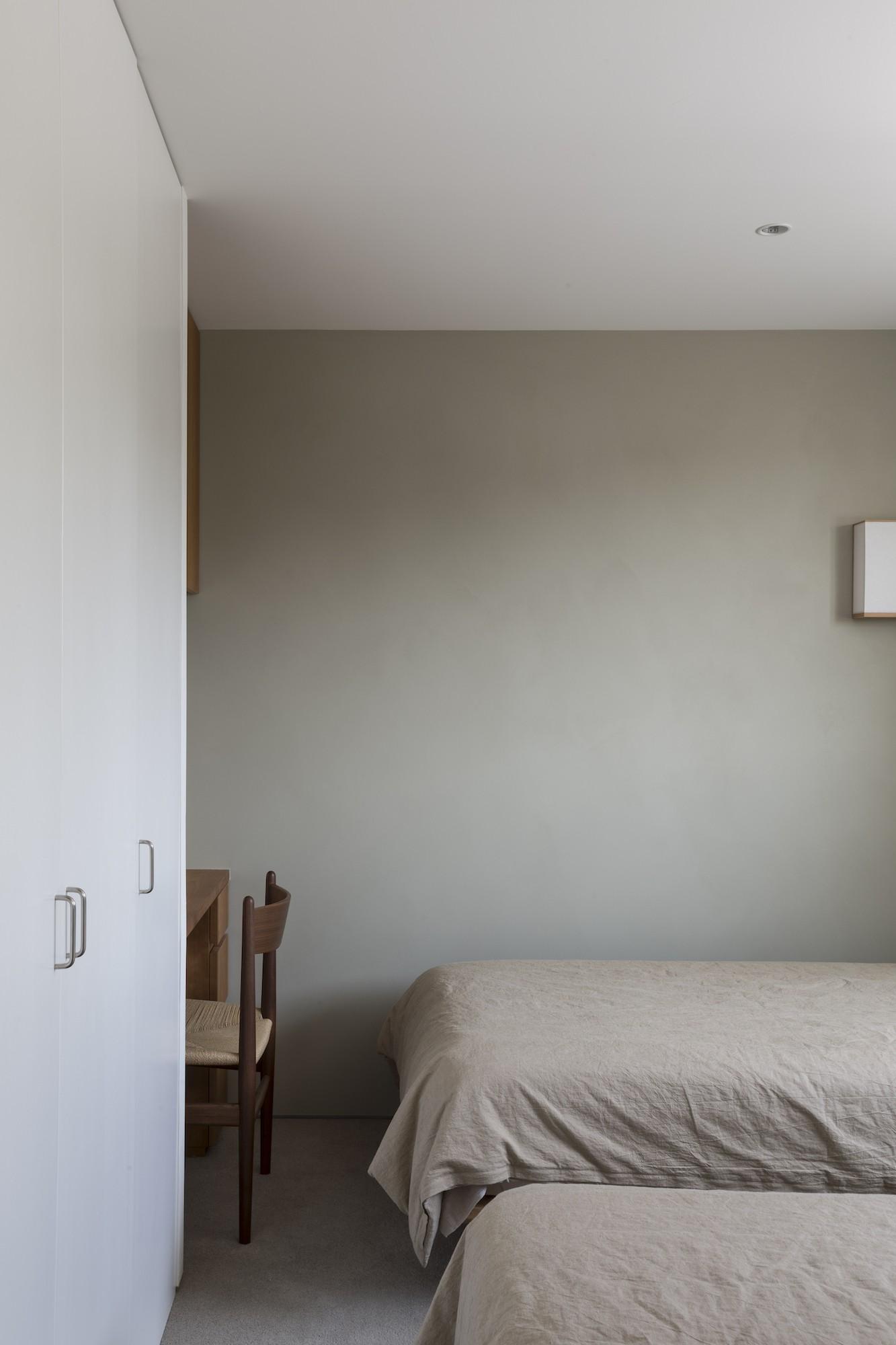 ベッドルーム事例:寝室(山手町の家)