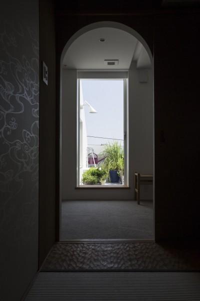 和室 (山手町の家)