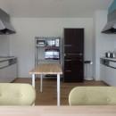 Kururi|倉庫・工場をコンバージョンしたゲストハウス・シェアハウス【奈良市】の写真 共用キッチン