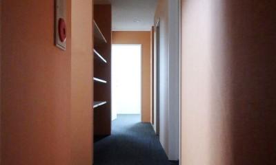 Kururi|倉庫・工場をコンバージョンしたゲストハウス・シェアハウス【奈良市】 (2階廊下)