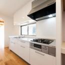 二階建てを一階建てに減築し、間取りも完全リフォームの写真 キッチン