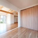 二階建てを一階建てに減築し、間取りも完全リフォームの写真 洋室