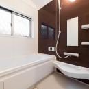 二階建てを一階建てに減築し、間取りも完全リフォームの写真 浴室