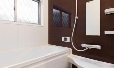 二階建てを一階建てに減築し、間取りも完全リフォーム (浴室)