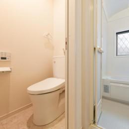 二階建てを一階建てに減築し、間取りも完全リフォーム (トイレ)