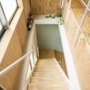 on houseの写真 階段