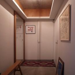 f house (玄関)