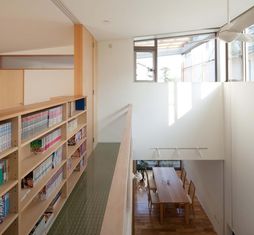 善福寺の2世帯住宅/Yoさんの家の部屋 内部バルコニー
