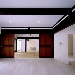 湯沢の住宅 (子世帯リビング)