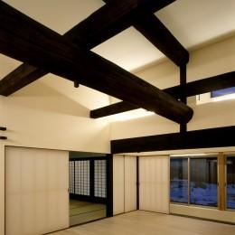 湯沢の住宅 (親世帯リビング)