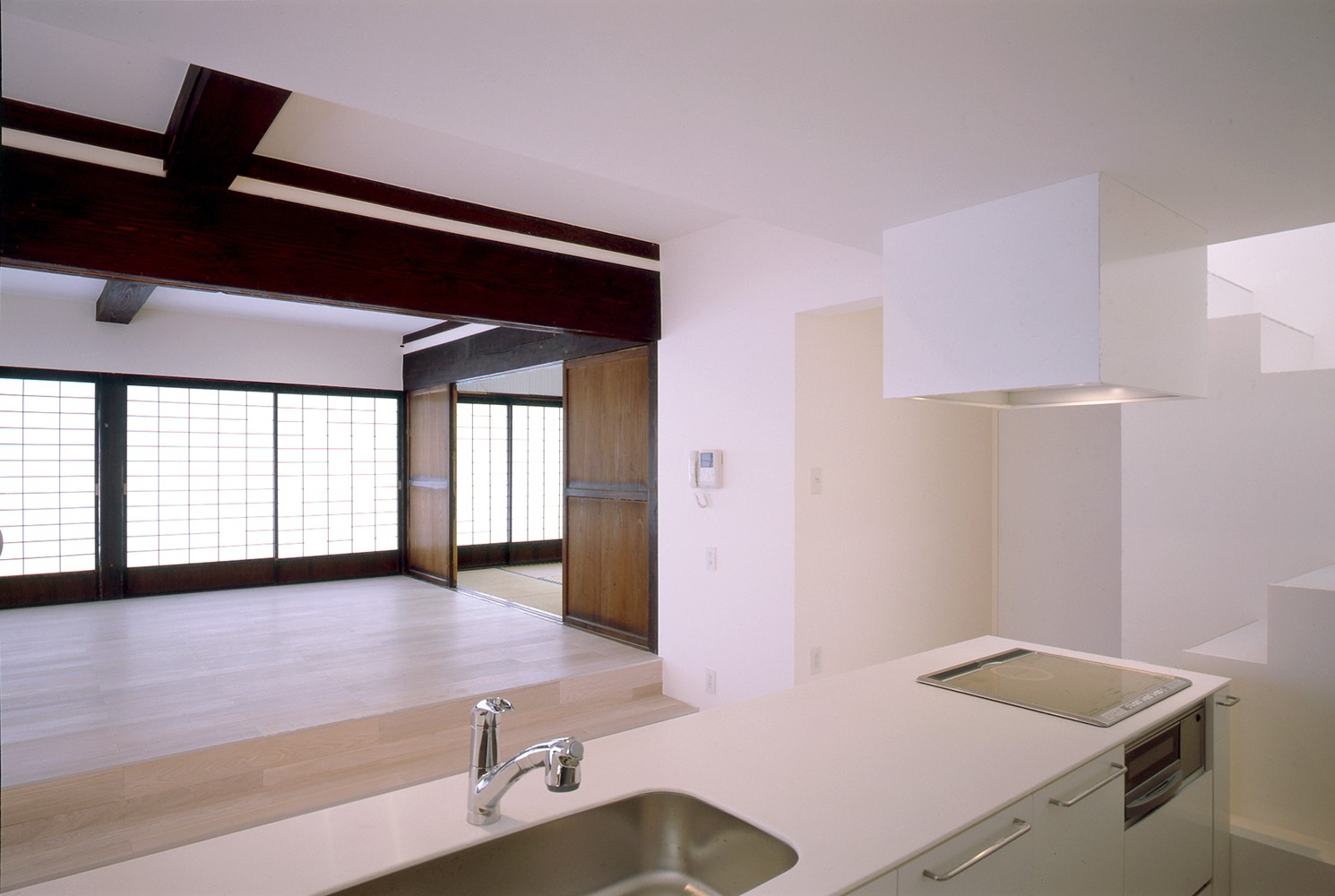キッチン事例:子世帯キッチン(湯沢の住宅)