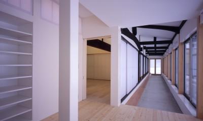 湯沢の住宅 (回廊)