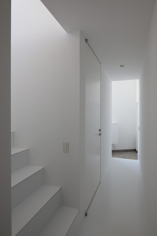 山王の住宅 (廊下)