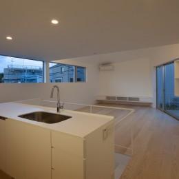 山王の住宅 (キッチン)