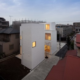 平間の2世帯住宅 (外観)