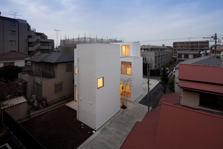 外観事例:外観(平間の2世帯住宅)
