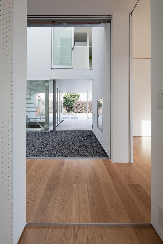 平間の2世帯住宅 (親世帯玄関)