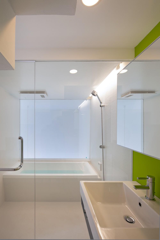 バス/トイレ事例:子世帯浴室(平間の2世帯住宅)