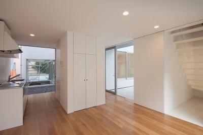 平間の2世帯住宅 (親世帯LDKスペース)