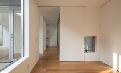 平間の2世帯住宅 (親世帯寝室)