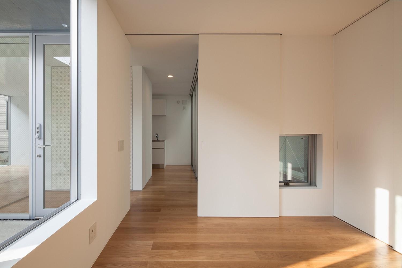 ベッドルーム事例:親世帯寝室(平間の2世帯住宅)