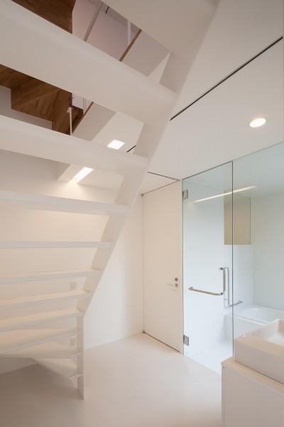 親世帯浴室 (平間の2世帯住宅)
