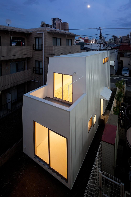 本八幡の住宅 (外観)