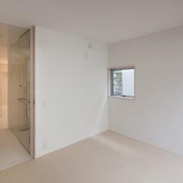 本八幡の住宅 (寝室)