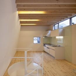 本八幡の住宅 (リビング,ダイニング,キッチン)