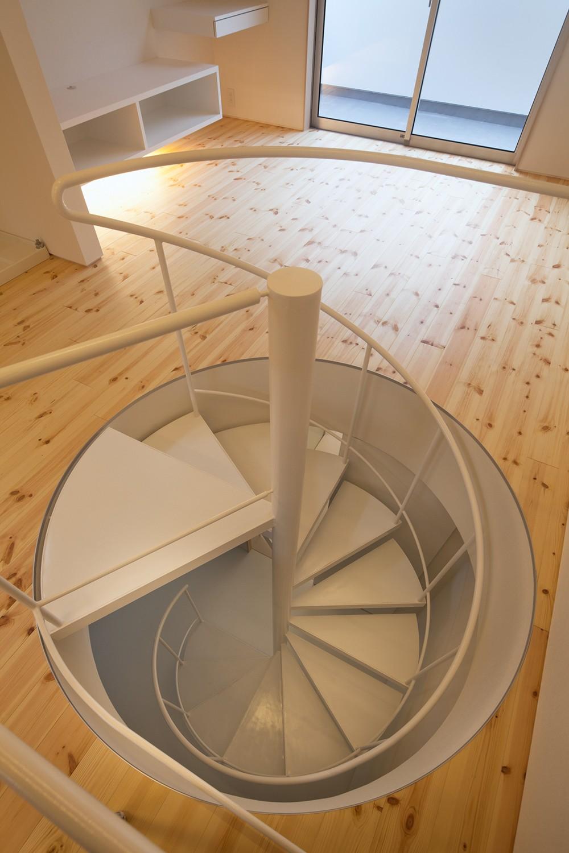 本八幡の住宅 (階段)