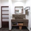 湘南に佇む古民家の写真 洗面台