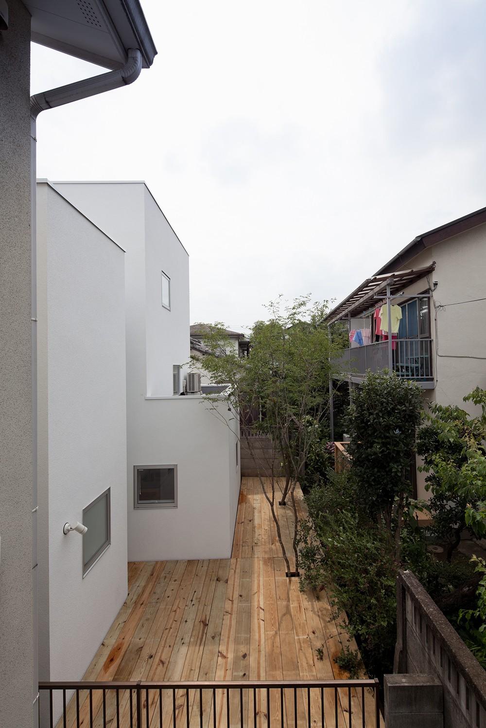 アウトドア事例:庭(三鷹の住宅)