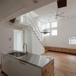 三鷹の住宅 (リビング,ダイニング,キッチン)